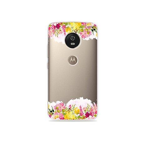 Capa para Moto G5 - Botânica