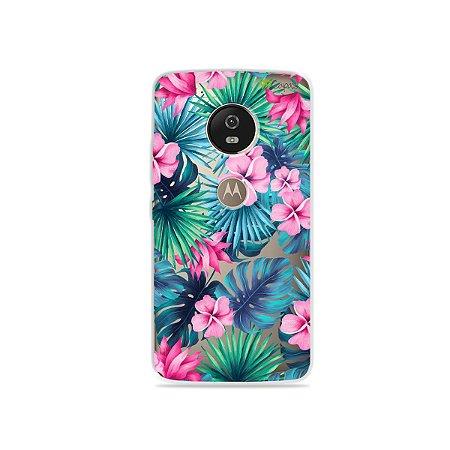 Capa para Moto G5 - Tropical