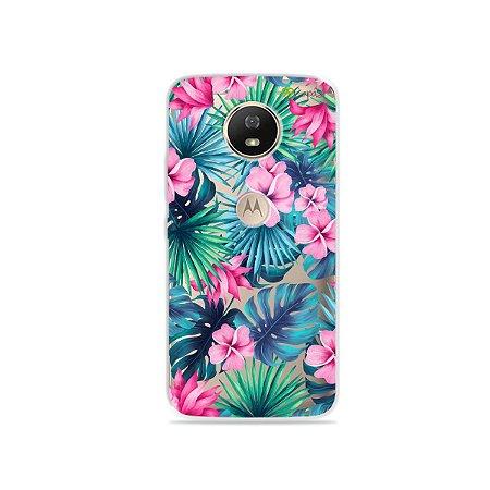Capa para Moto G5S - Tropical