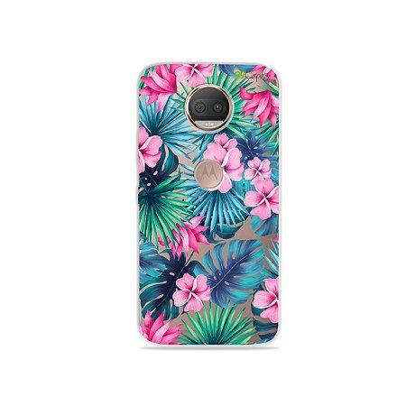 Capa para Moto G5S Plus - Tropical