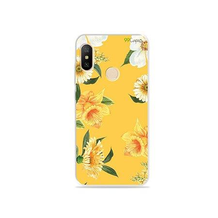 Capa para Xiaomi Mi A2 Lite - Margaridas