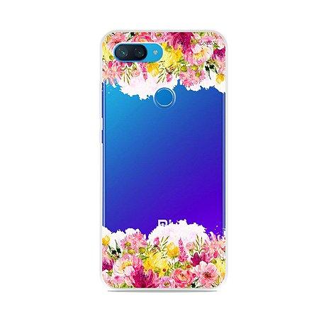 Capa para Xiaomi Mi 8 Lite - Botânica