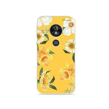 Capa para Moto E5 Play - Margaridas