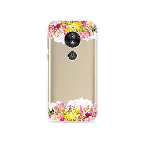 Capa para Moto E5 Play - Botânica