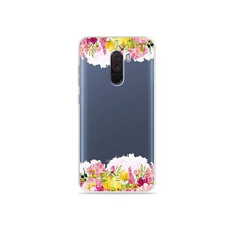 Capa para Xiaomi Pocophone F1 - Botânica