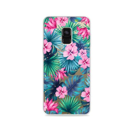 Capa para Galaxy A8 2018 - Tropical