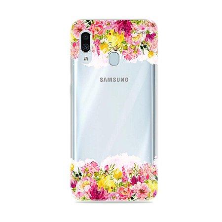 Capa para Galaxy A30 - Botânica