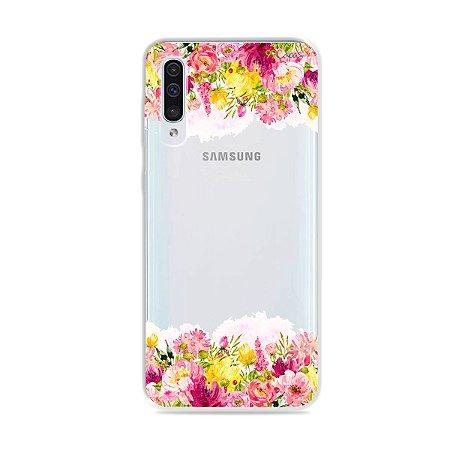 Capa para Galaxy A50 - Botânica