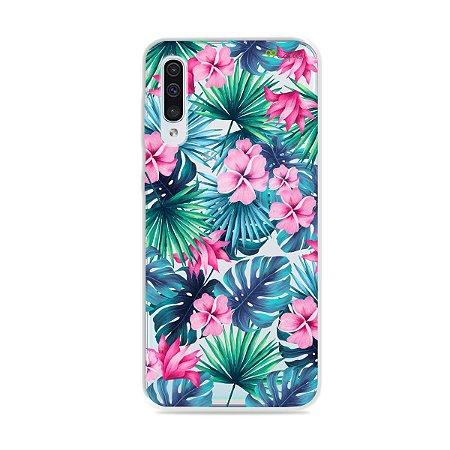 Capa para Galaxy A50 - Tropical