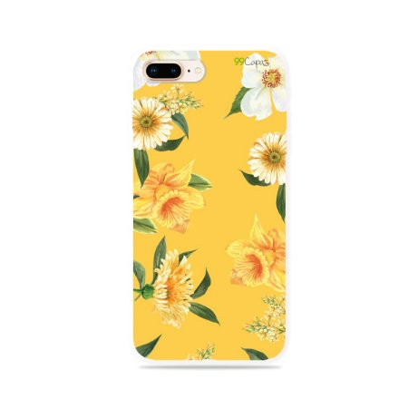 Capa para iPhone 7 Plus - Margaridas