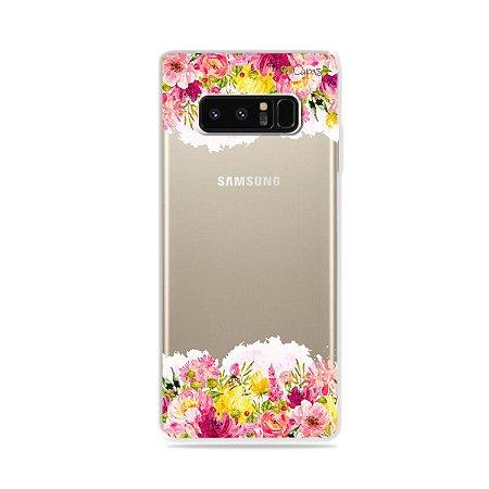 Capa para Galaxy Note 8 - Botânica