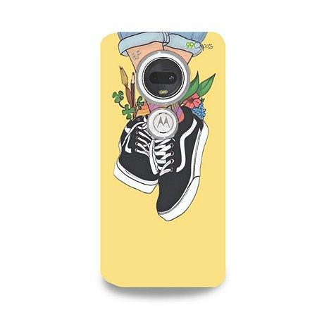 Capa para Moto G7 Plus - Sneakers