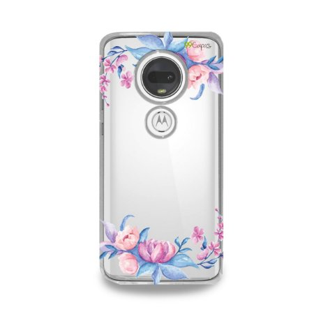 Capa para Moto G7 Plus - Bromélias