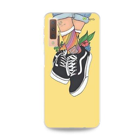 Capa para Galaxy A7 2018 - Sneakers