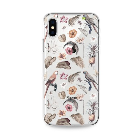 Capa para iPhone X/XS - Sweet Bird