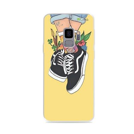 Capa para Galaxy S9 - Sneakers
