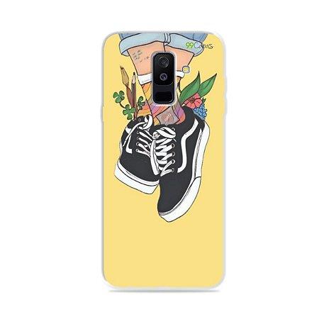 Capa para Galaxy A6 Plus - Sneakers
