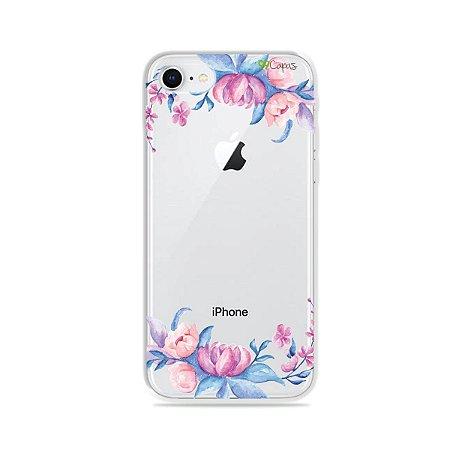 Capa para iPhone 8 - Bromélias