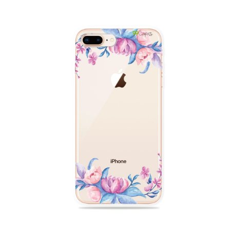 Capa para iPhone 8 Plus - Bromélias