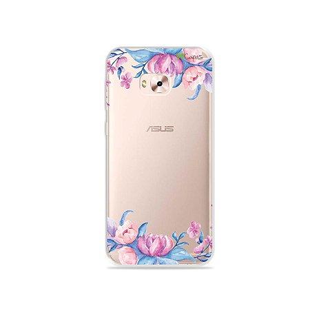 Capa para Zenfone 4 Selfie Pro - Bromélias