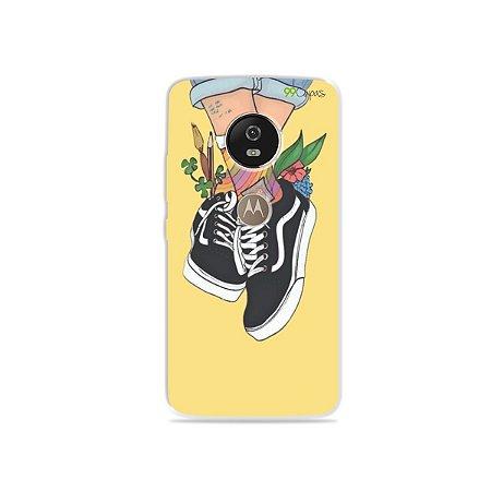 Capa para Moto G5 - Sneakers