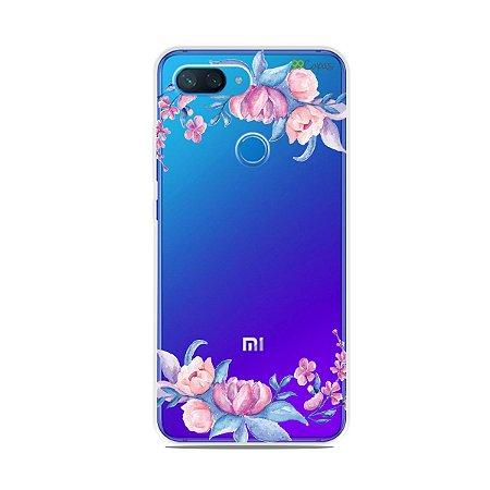 Capa para Xiaomi Mi 8 Lite - Bromélias