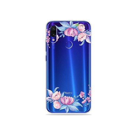 Capa para Xiaomi Redmi Note 7 - Bromélias