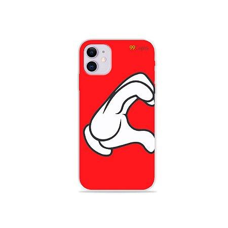 Capa para iPhone 11 - Coração Mickey