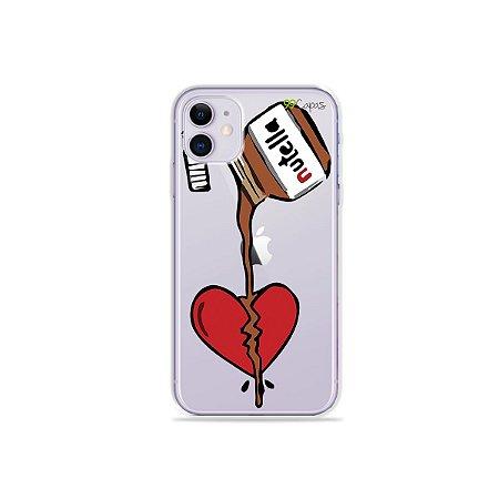 Capa para iPhone 11 - Nutella