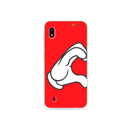 Capa para Galaxy A10 - Coração Mickey