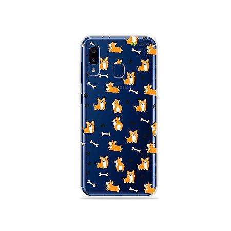 Capa para Galaxy A20 - Cãozinho