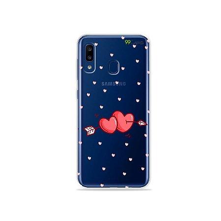 Capa para Galaxy A20 - In Love