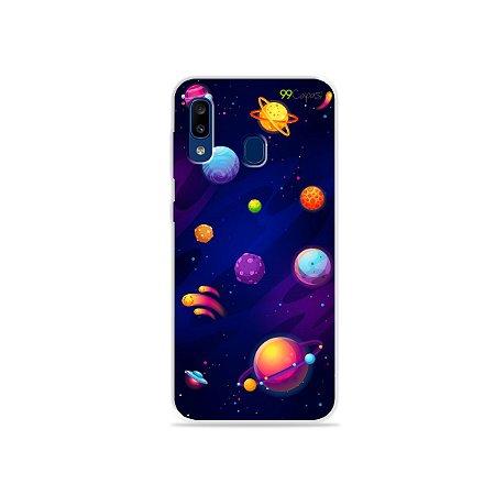 Capa para Galaxy A20 - Galáxia