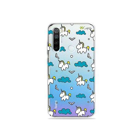 Capa para Xiaomi Redmi Note 8 - Unicórnio