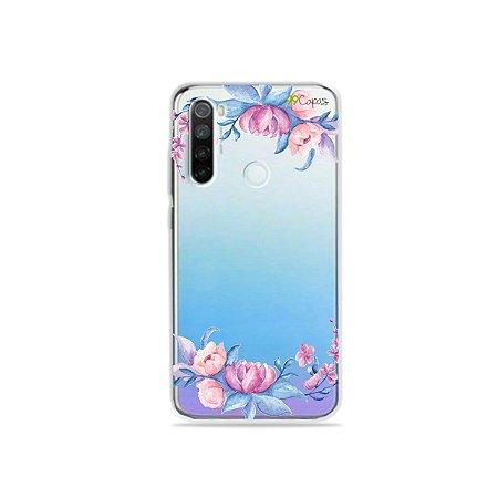 Capa para Xiaomi Redmi Note 8 - Bromélias