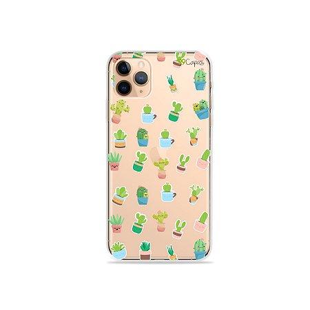 Capa para iPhone 11 Pro Max - Cactus