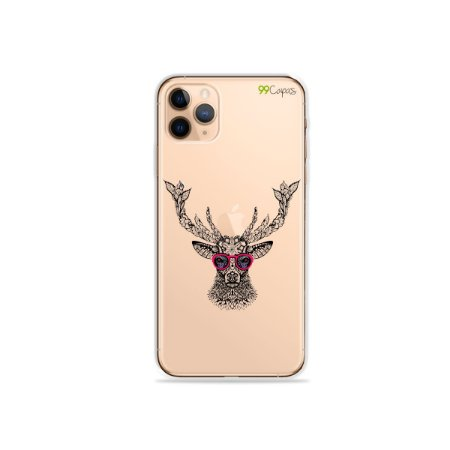Capa para iPhone 11 Pro Max - Alce Hipster