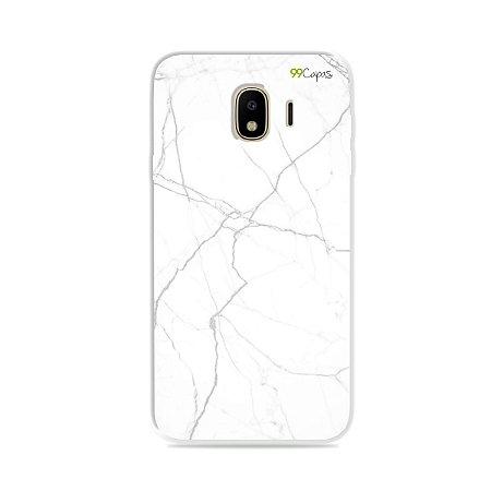 Capa para Galaxy J4 2018 - Marble White