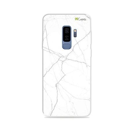 Capa para Galaxy S9 Plus - Marble White