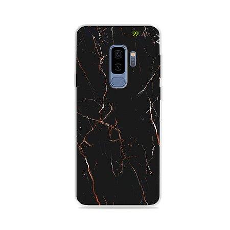 Capa para Galaxy S9 Plus - Marble Black