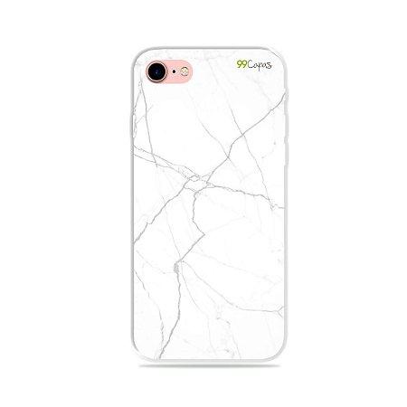 Capa para iPhone 7 - Marble White