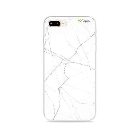 Capa para iPhone 8 Plus - Marble White