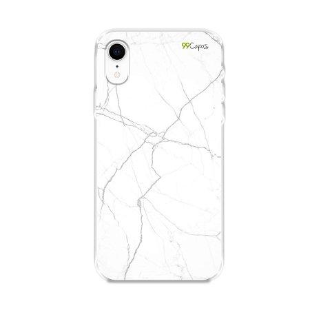 Capa para iPhone XR - Marble White