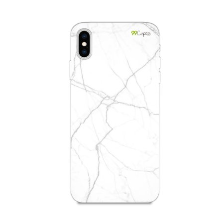 Capa para iPhone XS Max - Marble White