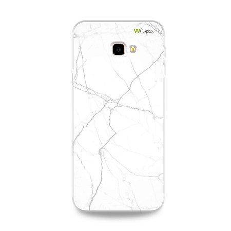 Capa para Galaxy J4 Plus - Marble White