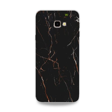 Capa para Galaxy J4 Plus - Marble Black