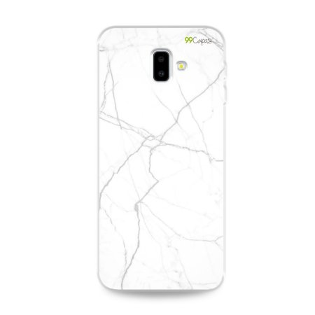 Capa para Galaxy J6 Plus - Marble White