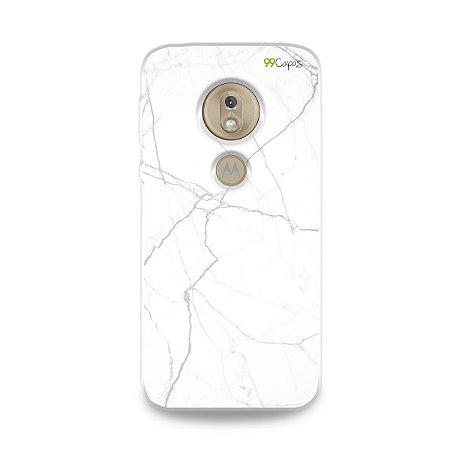 Capa para Moto G7 Play - Marble White