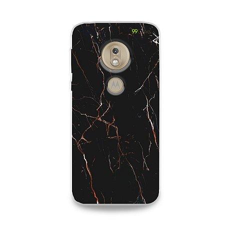 Capa para Moto G7 Play - Marble Black