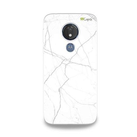 Capa para Moto G7 Power - Marble White
